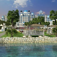 Das Foto wurde bei Rubi Platinum Spa Resort & Suites von Serhat K. am 10/5/2013 aufgenommen
