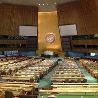 Das Foto wurde bei Vereinte Nationen von María de los Ángeles L. am 5/20/2013 aufgenommen