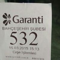 Photo prise au Garanti Bankası par H.Cahit H. le3/16/2015