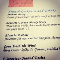 2/9/2014 tarihinde Mandy R.ziyaretçi tarafından Spoonful Restaurant'de çekilen fotoğraf