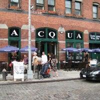 Das Foto wurde bei Acqua Restaurant NYC von Clive L. am 2/8/2014 aufgenommen