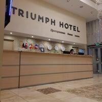 Снимок сделан в Триумф Отель / Triumph Hotel пользователем Aleksey L. 11/28/2017