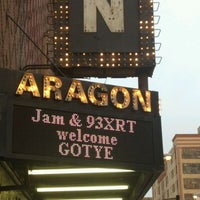 Снимок сделан в Aragon Ballroom пользователем Mary 4/4/2012