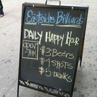 Foto tirada no(a) Eastside Billiards & Bar por Meg em 9/11/2012