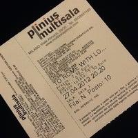 Das Foto wurde bei Cinema Plinius Multisala von Katrin am 4/27/2012 aufgenommen