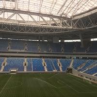 Снимок сделан в Стадион «Санкт-Петербург» пользователем Gosha C. 10/27/2016
