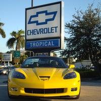 Das Foto wurde bei Tropical Chevrolet von Tropical Chevrolet am 11/15/2013 aufgenommen