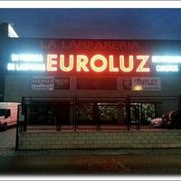 Foto scattata a Lámparas Sevilla EUROLUZ da Lamparas S. il 12/2/2013