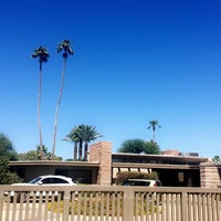Photo Taken At Twin Palms Frank Sinatra House By Jaclyn H On 9