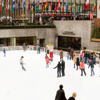 Foto scattata a The Rink at Rockefeller Center da The Rink at Rockefeller Center il 7/18/2019