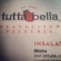 Foto diambil di Tutta Bella Neapolitan Pizzeria oleh Matt P. pada 6/24/2013