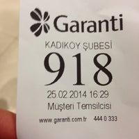 Photo prise au Garanti Bankası par Şeriy K. le2/25/2014
