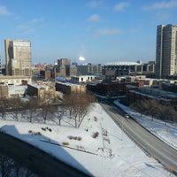12/29/2012 tarihinde Kari V.ziyaretçi tarafından Hilton Garden Inn Minneapolis Downtown'de çekilen fotoğraf