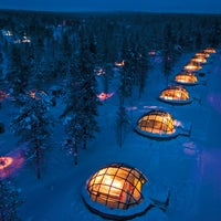 Foto scattata a Kakslauttanen Arctic Resort da Kakslauttanen Arctic Resort il 12/17/2013