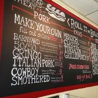 2/20/2013 tarihinde Greg L.ziyaretçi tarafından Jake's Sandwich Board'de çekilen fotoğraf