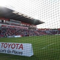 Foto tomada en Toyota Field por Kathy el 5/5/2013