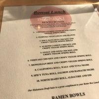 Bonsai Bistro Now Closed Downtown Coeur D Alene 22 Tips