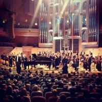 Снимок сделан в Московский международный дом музыки (ММДМ) пользователем Alina 4/1/2013