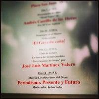 11/14/2013 tarihinde Nacho T.ziyaretçi tarafından Museo Ramón Gaya'de çekilen fotoğraf