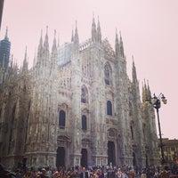 รูปภาพถ่ายที่ Duomo di Milano โดย Claire T. เมื่อ 6/15/2013