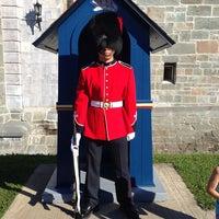 Foto tomada en Citadelle de Québec por Cristina B. el 8/24/2013
