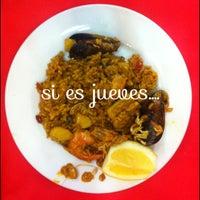 Das Foto wurde bei Restaurante Salamanca von Rita G. am 3/21/2013 aufgenommen