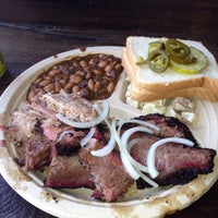 Photo taken at Little Miss BBQ by Doug on 1/28/2015