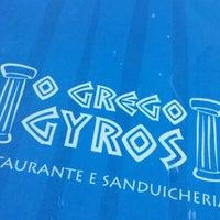 Foto tirada no(a) O Grego Gyros por Luiz Felippe C. em 8/2/2014