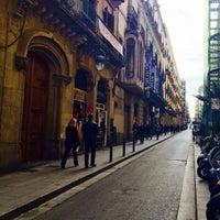 Carrer De La Princesa Road In Barcelona