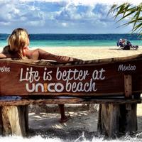 Foto tirada no(a) Único Beach por Único Beach em 1/3/2014
