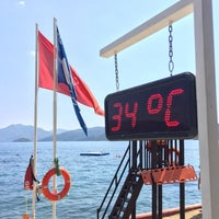 9/10/2018 tarihinde Dmitry L.ziyaretçi tarafından Grand Yazıcı Marmaris Palace Beach'de çekilen fotoğraf