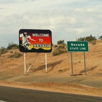 Photo taken at Arizona / Nevada State Line by Marie Z. on 9/23/2012
