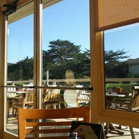 Photo Taken At Gallery Cafe Pebble Beach By Olivia H On 12 31