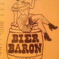 รูปภาพถ่ายที่ Bier Baron Tavern โดย Eliazar G. เมื่อ 3/27/2013