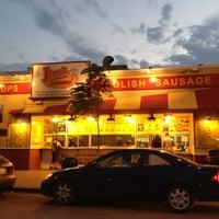 6/12/2013 tarihinde Raquel R.ziyaretçi tarafından Jim's Original Hot Dog'de çekilen fotoğraf