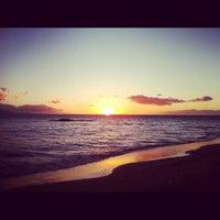 Photo taken at Kalama Beach Park by Gabriel Roybal on 12/19/2012