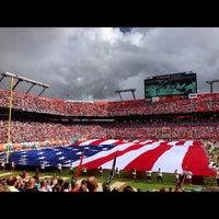 12/2/2012 tarihinde Gustavo C.ziyaretçi tarafından Hard Rock Stadium'de çekilen fotoğraf