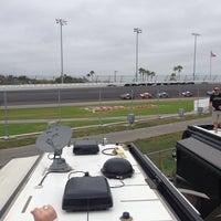 Daytona International Speedway Turn 4 Racetrack In Daytona Beach