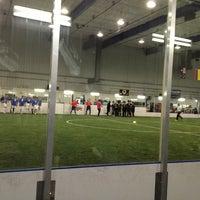 12/30/2012 tarihinde Desiree P.ziyaretçi tarafından Las Vegas Indoor Soccer Park'de çekilen fotoğraf