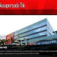 6/11/2012にMeryati L.がPT Sat Nusapersada Tbkで撮った写真