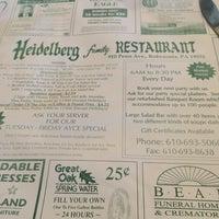 Foto tirada no(a) Heidelberg Family Restaurant por Andrew W. em 12/4/2014