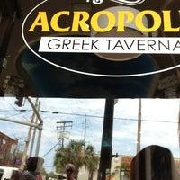 Снимок сделан в Acropolis Greek Taverna пользователем Kathy S. 3/22/2013