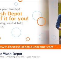 Photo taken at The Wash Depot Laundromat by The Wash Depot Laundromat on 2/3/2014