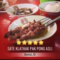 Foto diambil di Sate Klathak Pak Pong Asli oleh superdogye 🐶 pada 8/16/2013