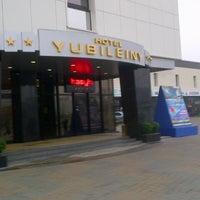 Снимок сделан в Гостиничный комплекс «Юбилейный» / Hotel Yubileiny пользователем David B. 11/19/2012