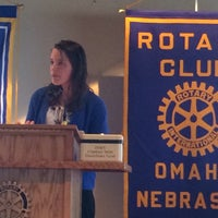 Foto tirada no(a) The Rotary Club of Omaha Meetings por Todd M. em 3/18/2015