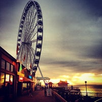 Das Foto wurde bei The Seattle Great Wheel von Soo Min P. am 4/10/2013 aufgenommen