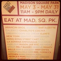 Photo prise au Mad. Sq. Eats par Stacy N. le5/6/2013