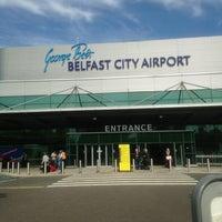 6/18/2013 tarihinde Bethziyaretçi tarafından George Best Belfast City Airport (BHD)'de çekilen fotoğraf