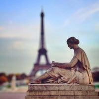 Photo prise au Place du Trocadéro par aneel . le11/27/2012